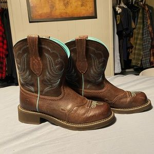 Ariat size 11 fat baby boots